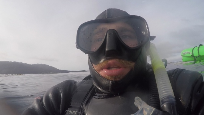Tips for Diving with a Mustache